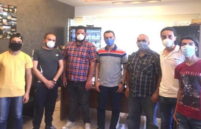 تنظيم وتعقيم مركز الضمان الاجتماعي في طرابلس