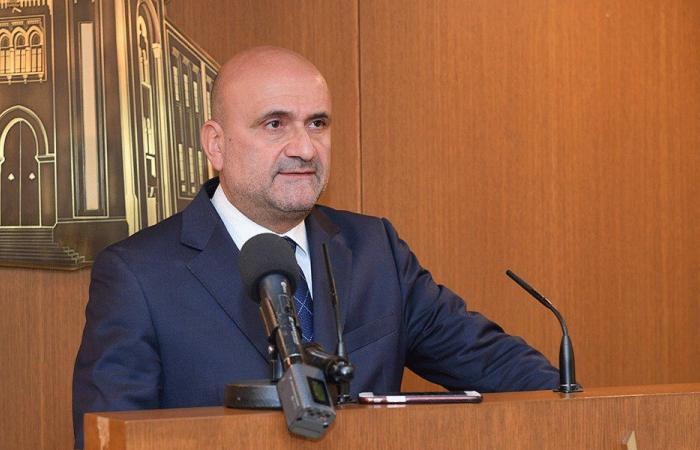 ابي رميا يلتقي السفير الفرنسي في لبنان