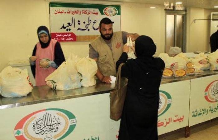 """بيت الزكاة والخيرات ينفذ مشروع """"طبخة العيد"""""""