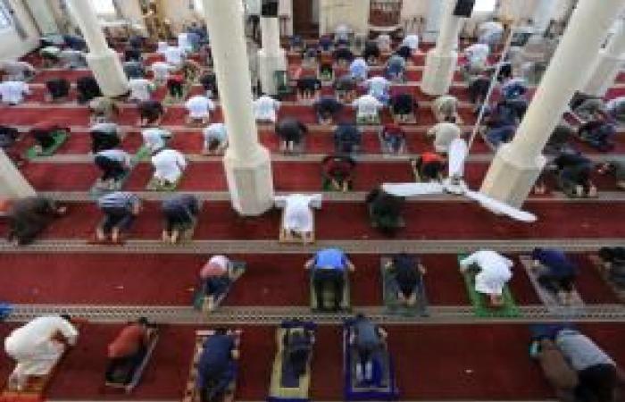 فلسطين | مساجد غزة تستقبل المصلين لأداء صلاة العيد وسط تدابير مواجهة فيروس كورونا
