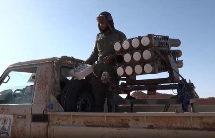 اشتباكات بين الجيش الليبي وقوات الوفاق في محيط طرابلس