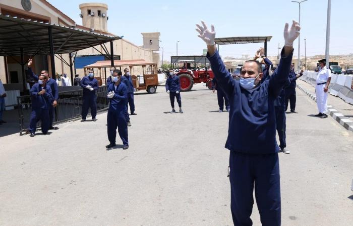 مصر | بالصور.. عفو رئاسي عن 5532 سجيناً مصرياً بمناسبة العيد