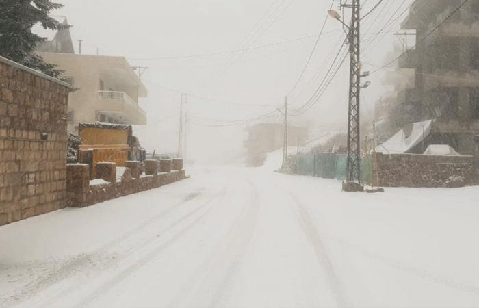 بالفيديو والصور: الثلوج تغطي كفردبيان