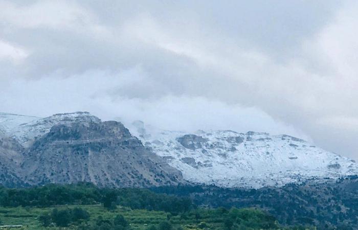 في أيار.. الثلوج تغطي مرتفعات عكار!
