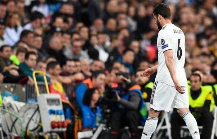 مدافع ريال مدريد يتعرض لإصابة عضلية