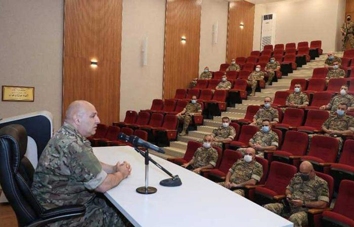 العماد عون: المهام التي يقوم بها الجيش ليست سهلة