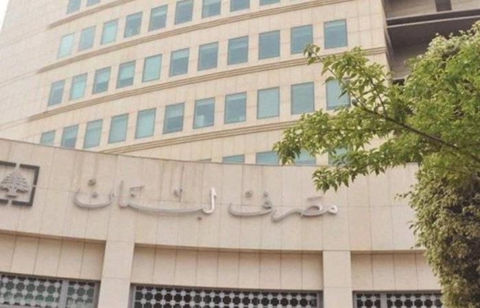 تعميم من مصرف لبنان حول وضع الشيكات المرتجعة