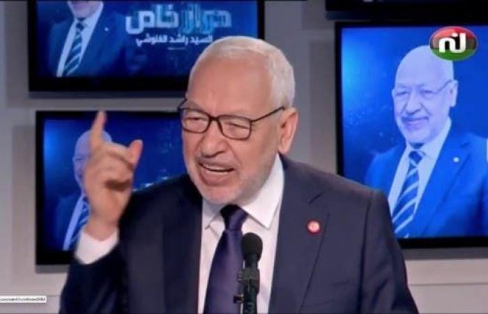 تونس.. اتهامات للغنوشي بخرق القانون بظهوره على قناة غير مرخصة