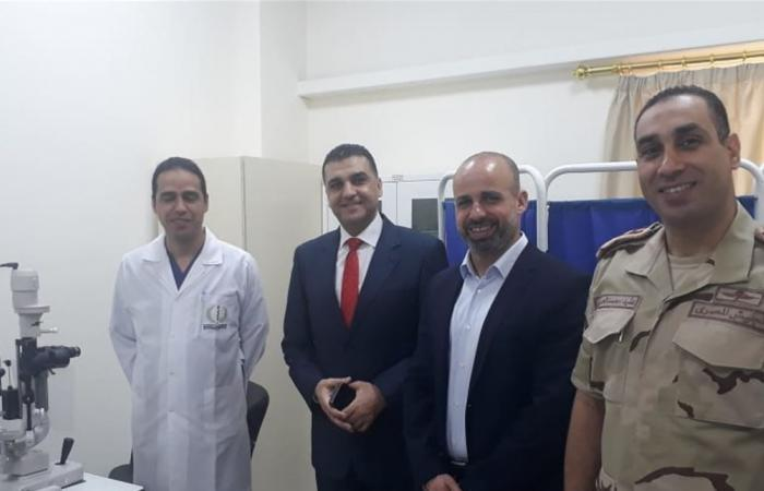 القنصل الجوزو زار المركز الطبي الاستشفائي المصري: سيستأنف خدماته المجانية غداً