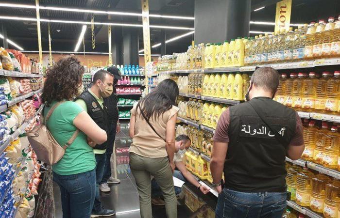 بين شبعة والاشرفية.. جولة لمراقبي مصلحة حماية المستهلك على محال تجارية (صور)