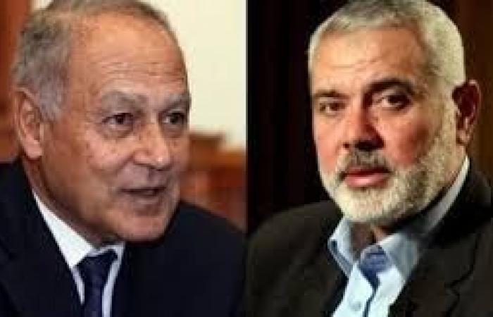 فلسطين | هنية يدعو أبو الغيظ إلى عقد قمة عربية عاجلة لمواجهة خطة الضم