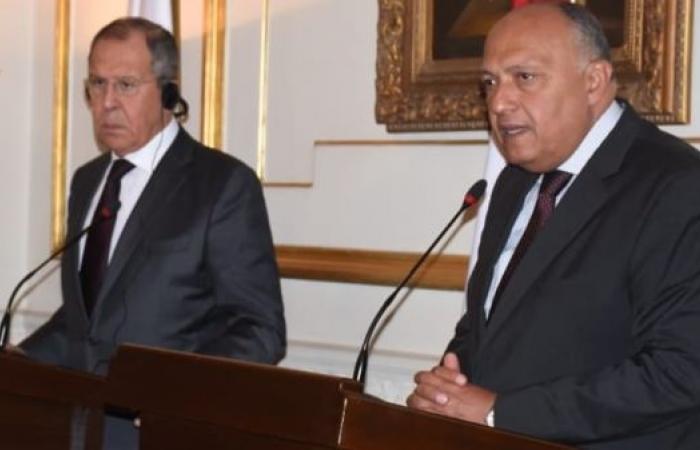 مصر | بعد تصريحات السيسي عن ليبيا.. شكري يهاتف لافروف