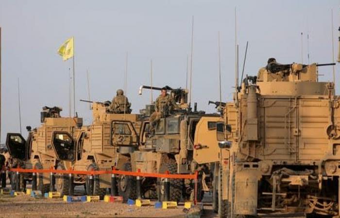 سوريا   استهداف آليات عسكرية أميركية بعبوة ناسفة بدير الزور