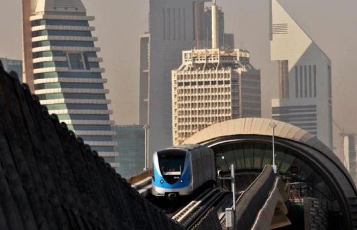 """الطاير للعربية: """"مترو دبي"""" العامود الفقري لمنظومة النقل"""