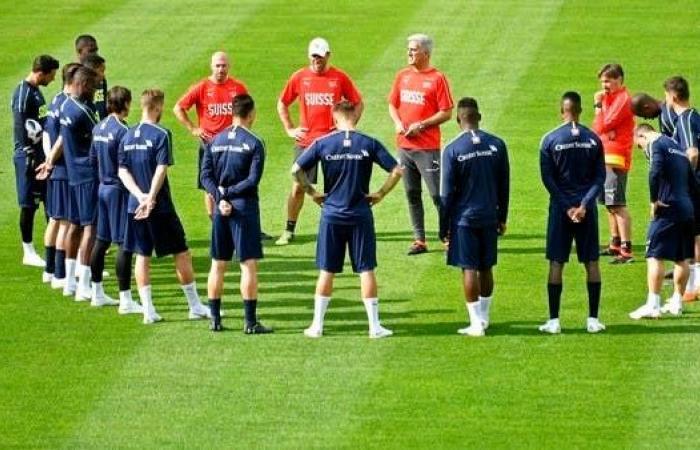 منتخب سويسرا يلاقي كرواتيا وبلجيكا ودياً