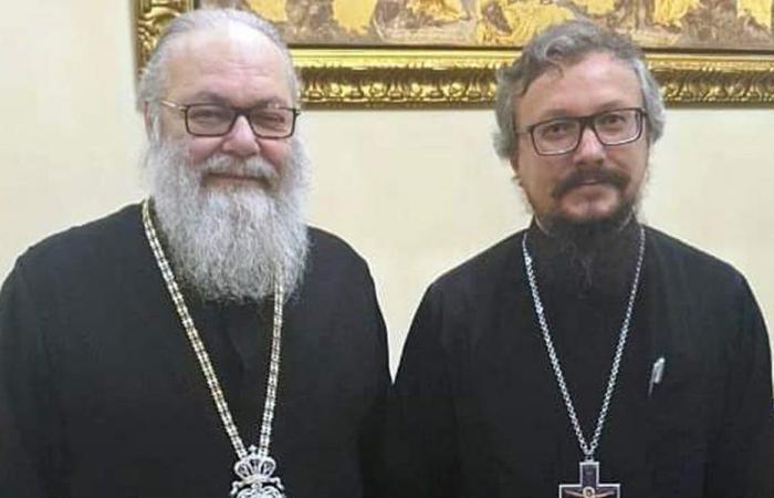 الاوضاع العامة بين يازجي وممثل بطريرك موسكو وسائر روسيا