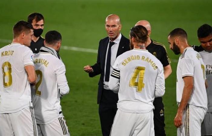 """زيدان يطالب لاعبي ريال مدريد بالحفاظ على """"التركيز"""""""