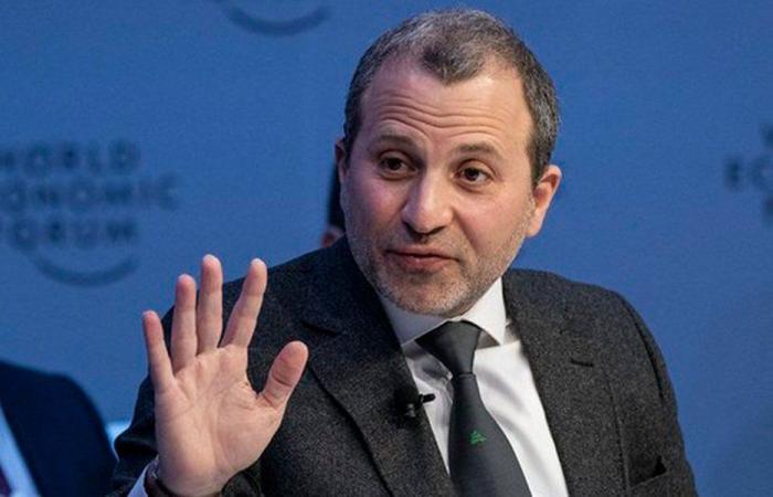 """باسيل أكد لـ """"حماس"""" شجبه لأي عملية ضم لأراض فلسطينية"""