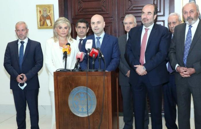 وفد قواتي التقى عودة: لالتزام حياد لبنان وكيانه ومحبته