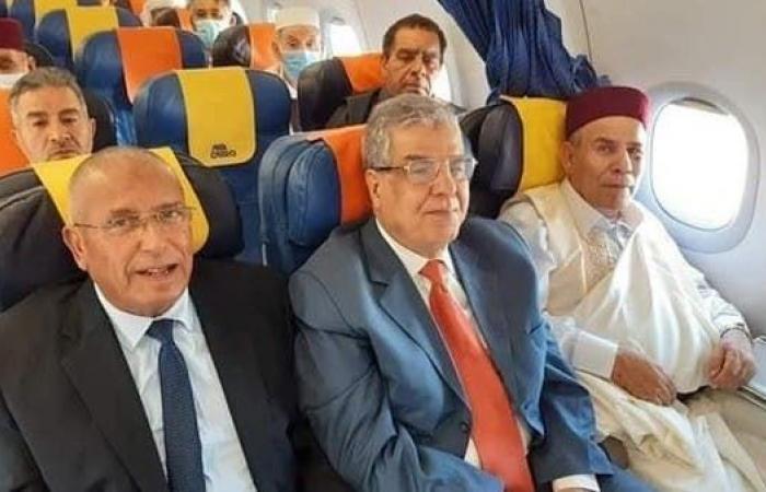 وفد قبائل ليبيا إلى القاهرة تأييداً لتدخل الجيش المصري