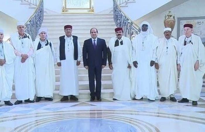 مصر | شاهد حفيد عمر المختار للسيسي: صاحب البيت لا يستأذن الدخول