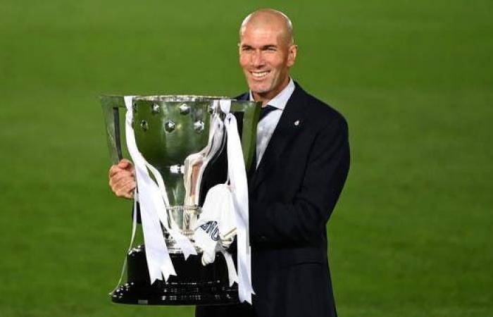 زيدان: لقب الدوري الإسباني أهم من أبطال أوروبا
