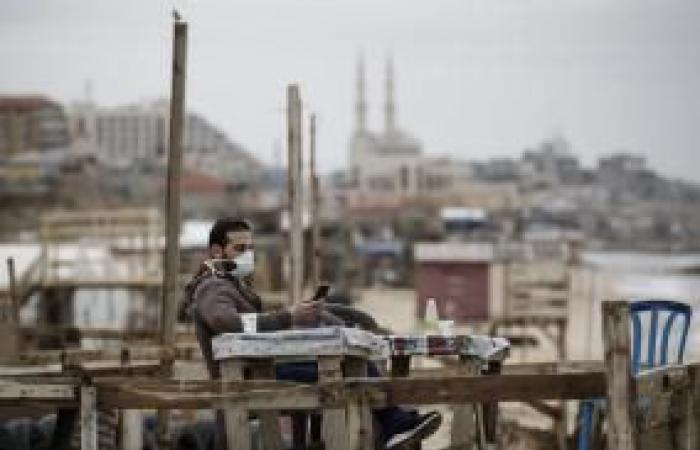 فلسطين   مناورة تحاكي اكتشاف إصابة بكورونا في حي مكتظ بغزة