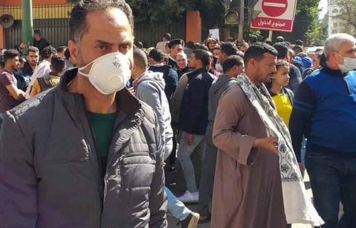 مصر | مصر تسجل698 إصابة جديدة بفيروس كورونا و 63 وفاة