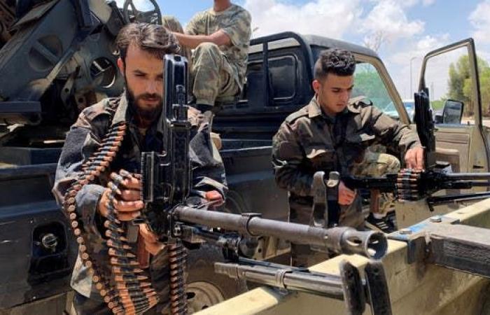 قوات الوفاق تحرك 200 آلية عسكرية قرب خط التماس في سرت