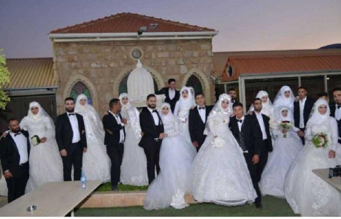 عرس جماعي في طرابلس