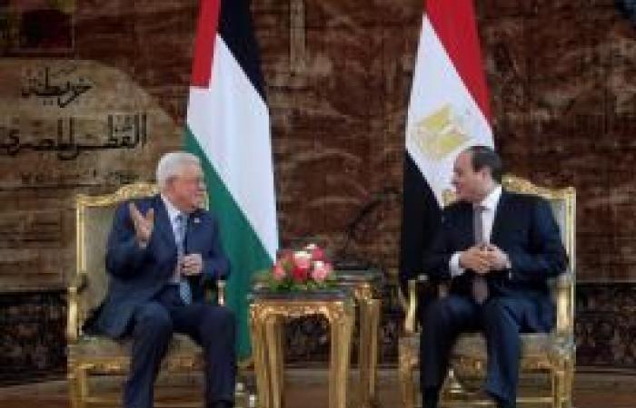 فلسطين   السيسي خلال مكالمة هاتفية مع الرئيس يؤكد دعم بلاده للشعب الفلسطيني وقضيته
