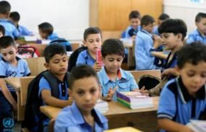 فلسطين | الأونروا: العام الدراسي بغزة سيبدأ في الثامن من الشهر المقبل