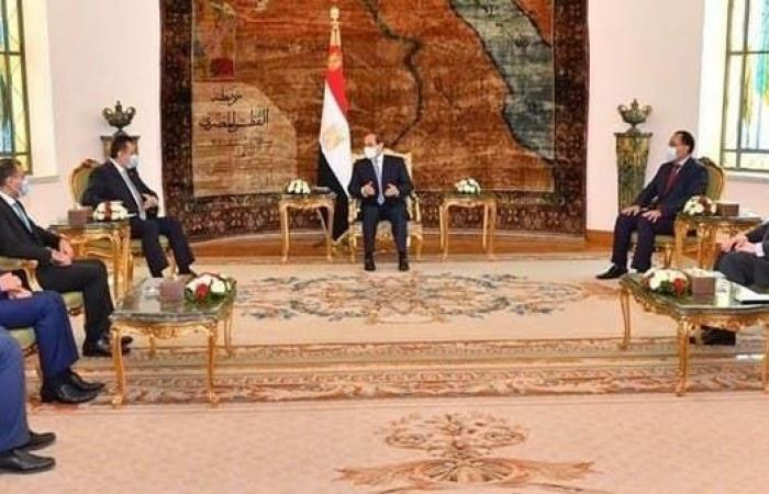 مصر | السيسي: مصر تدعم أمن واستقرار اليمن وحكومته الشرعية