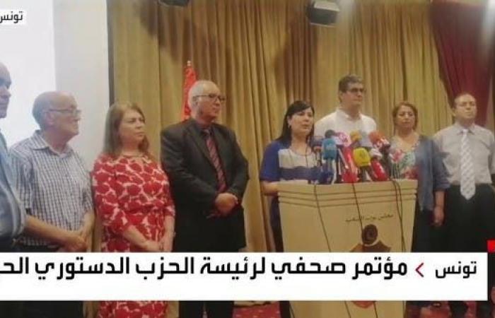 عبير موسي: استمرار الغنوشي رئيساً للبرلمان خطر على تونس