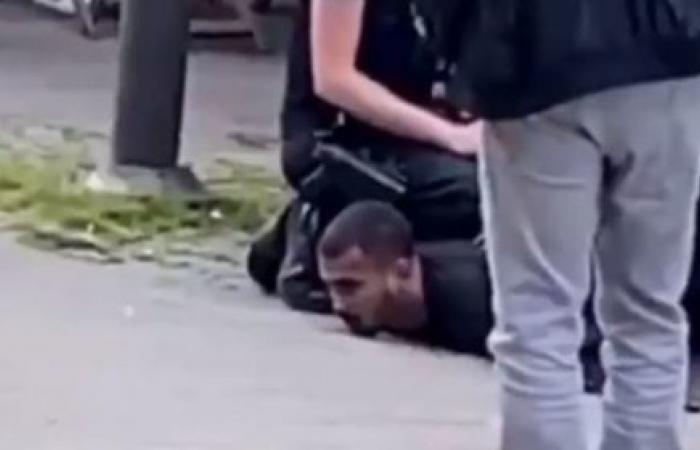 فلويد الجزائري..جديد وفاة شاب ركع ضابط بلجيكي على رقبته