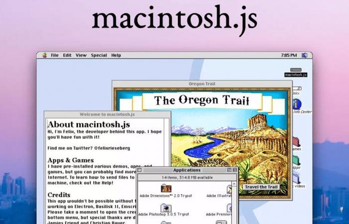 مطور يحول نظام Mac OS 8 إلى تطبيق يمكن تنزيله على أي حاسوب