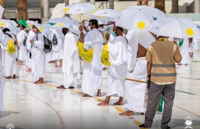 السعودية   الحجاج يتوجهون إلى عرفات لتأدية الركن الأعظم