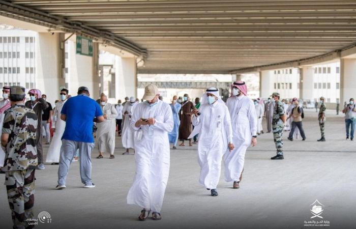 السعودية   صور.. هكذا يقضي حجاج بيت الله أيام التشريق