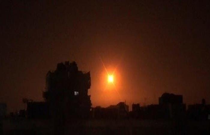 سوريا   غارات إسرائيلية على مواقع عسكرية في ريف دمشق والجولان