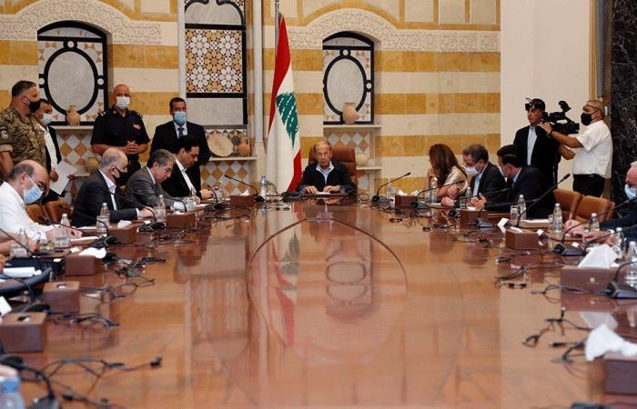 """""""الأعلى للدفاع"""" يعلن بيروت مدينة منكوبة: لإعلان حالة الطوارئ"""