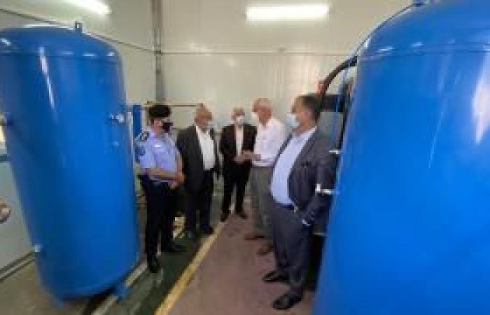 فلسطين | بيت لحم: افتتاح محطة الأوكسجين الحديثة بالمركز الوطني لعلاج مرضى كورونا