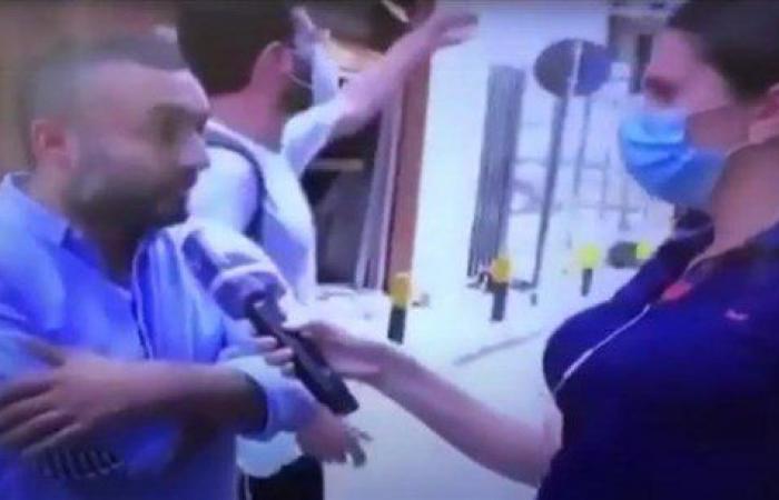بالفيديو: مدير مكتب نقولا الصحناوي يصفع شاباً على الهواء!