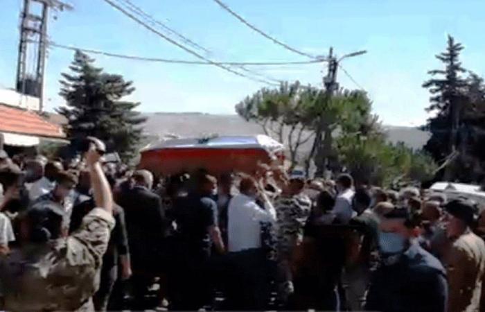 راشيا الوادي تودع المؤهل في الأمن العام قيصر أبو مرهج