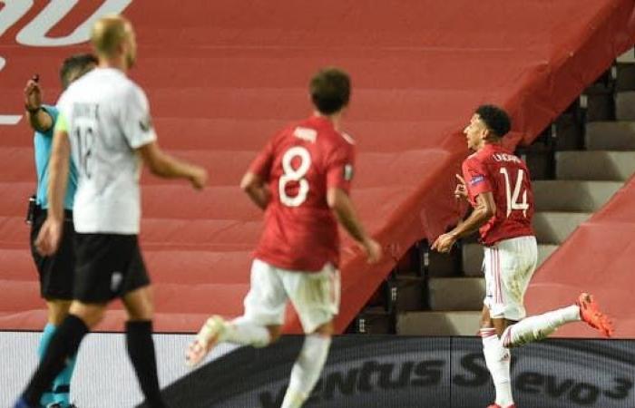 مانشستر يونايتد يلحق بركب المتأهلين في الدوري الأوروبي
