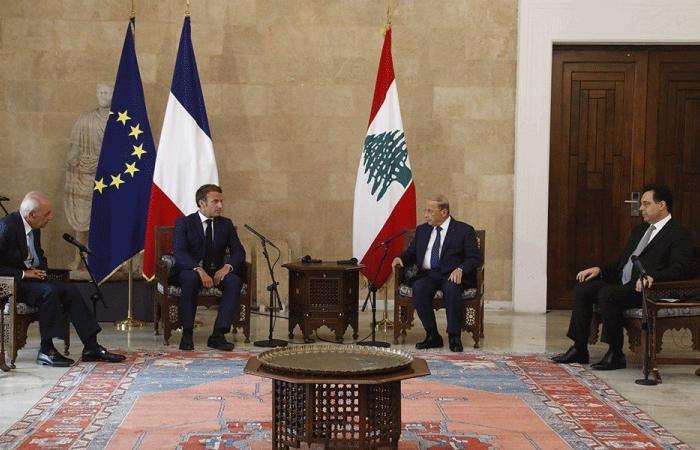 ماكرون:أزمة لبنان تتطلب مبادرات سياسية قوية