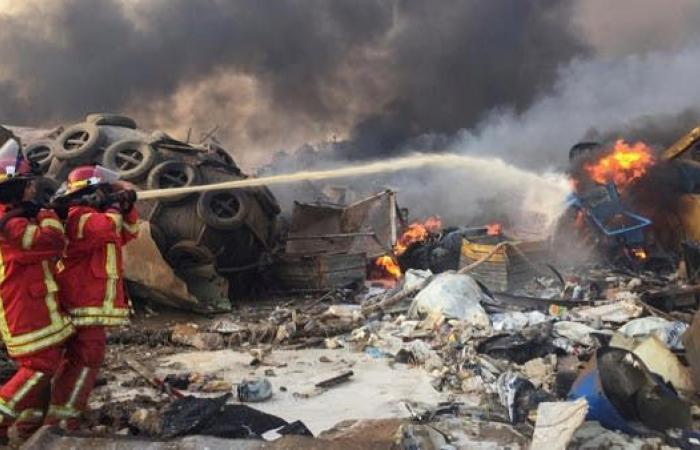 وزير الاقتصاد: لبنان يحتاج مساعدات دولية لمواجهة الكارثة