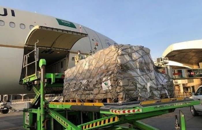 السعودية | وصول طائرتي إغاثة إضافيتين من السعودية إلى لبنان