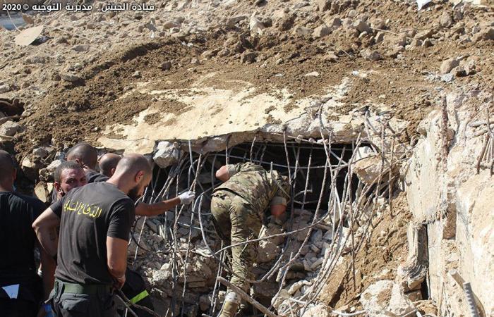 بالصور والفيديو: الجيش يستكمل أعمال البحث والإنقاذ في مرفأ بيروت