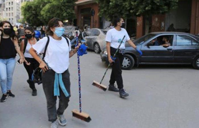 هول الكارثة انفجر نخوةً في شوارع بيروت