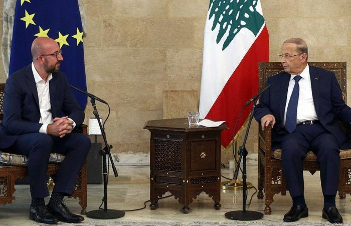 رئيس مجلس الاتحاد الأوروبي: حاضرون للمساهمة بإعادة إعمار بيروت